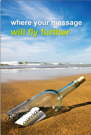where your message will fly further